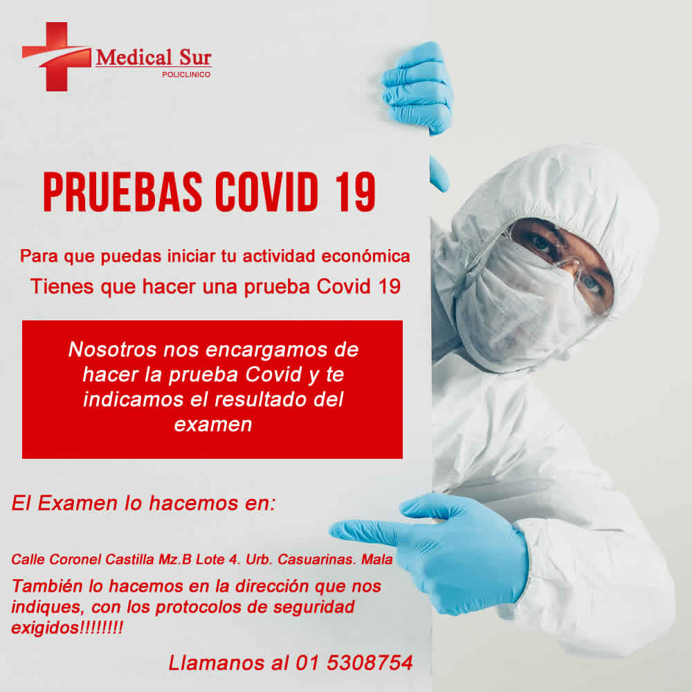 POLICLINICO MEDICAL SUR | VACUNACION COVID 19
